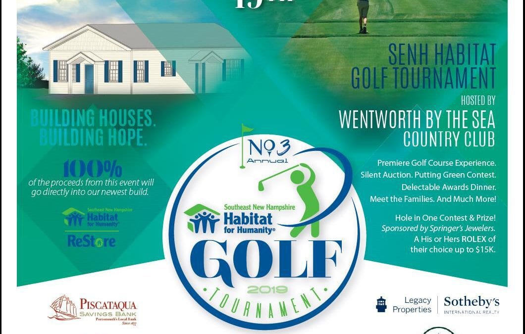 SENH Habitat Golf Tournament!